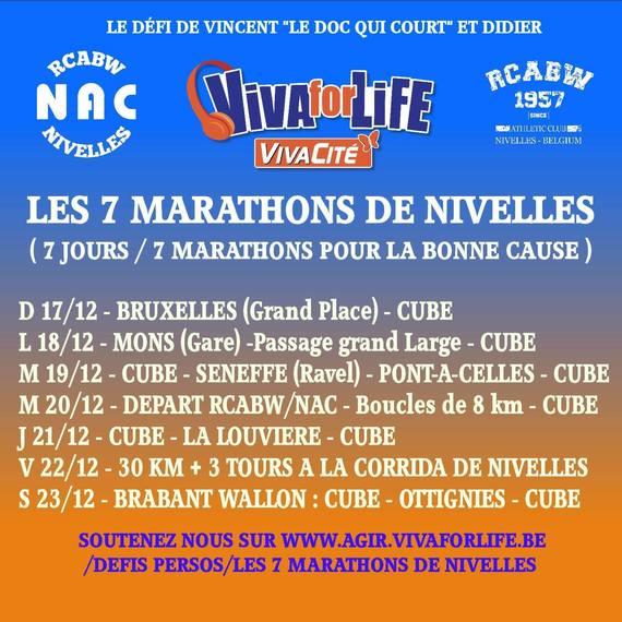 Les 7 marathons de Nivelles
