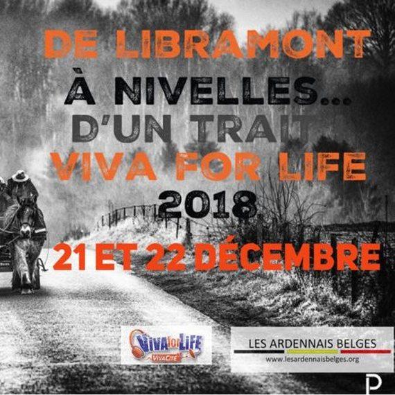 De Libramont à Nivelles… d'un trait