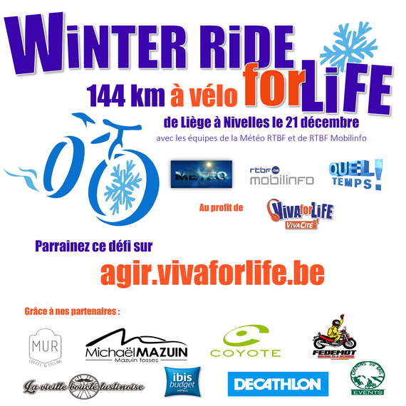 Winter Ride for Life