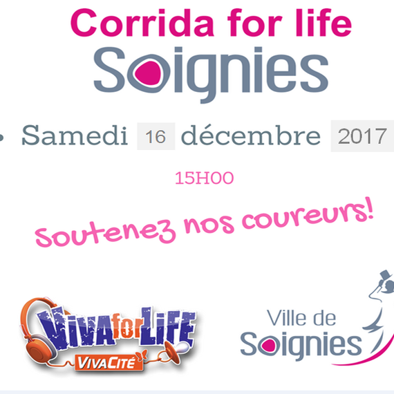 Corrida For Life Soignies 2017