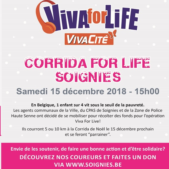 Corrida-Adeps for life Soignies