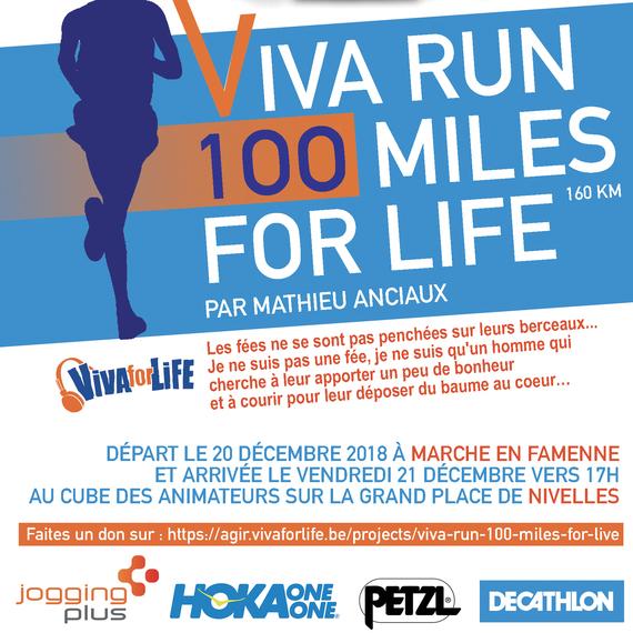 Viva Run 100 miles For Life