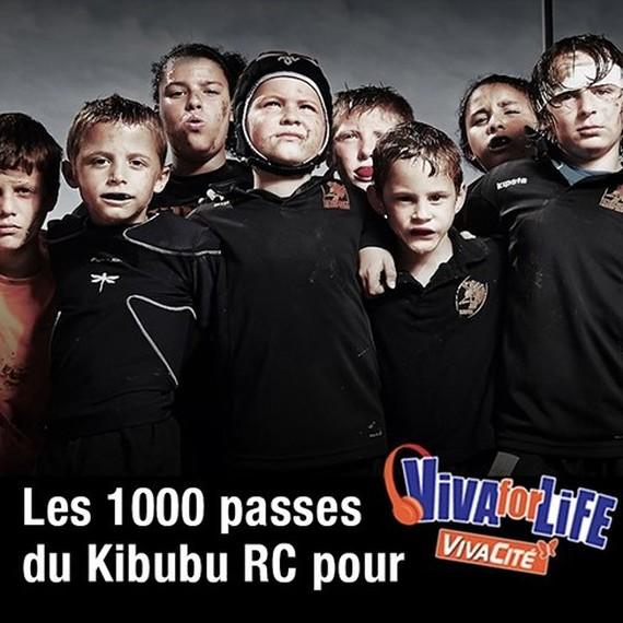 Les 1000 passes du Kibubu Rugby Club pour Viva for Life