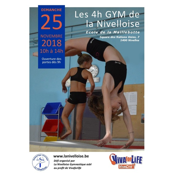 Les 4h gym de la Nivelloise