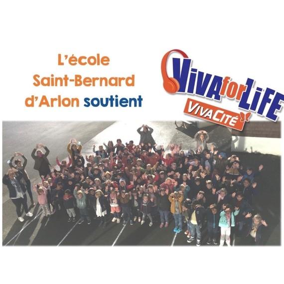 Rallye découverte de la ville d'Arlon du cycle 5/8 de l' école St Bernard Arlon