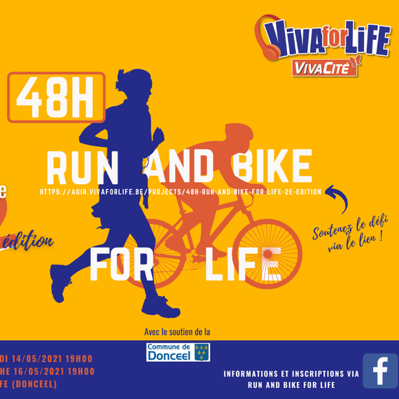 48h run and bike for life 2e édition