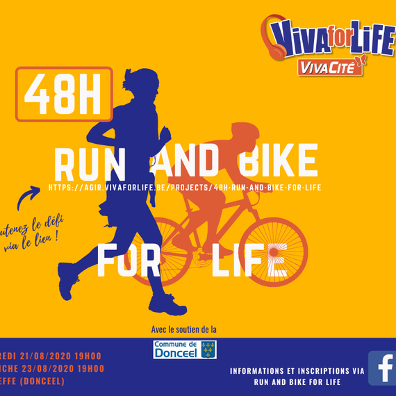 48H RUN AND BIKE FOR LIFE