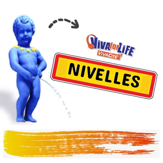 Manneken-Pis → Grand-Place de Nivelles 2018