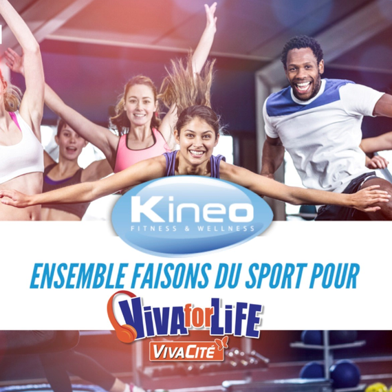 Le Kineo se bouge pour Viva for Life