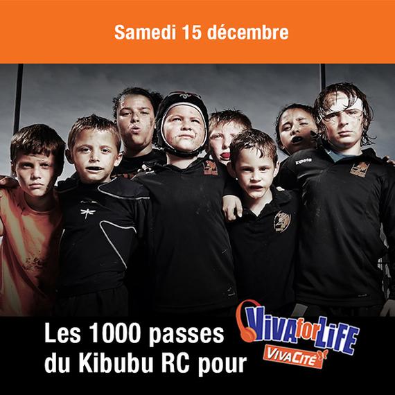 1000 passes de rugby pour Viva