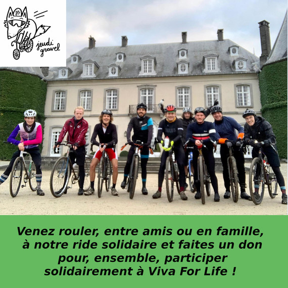 Ride collectif Jeudi Gravel Solidaire