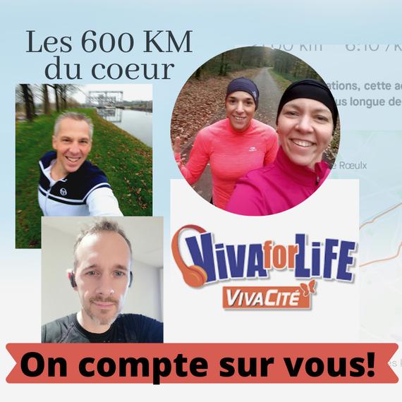 Les 600 KM du coeur