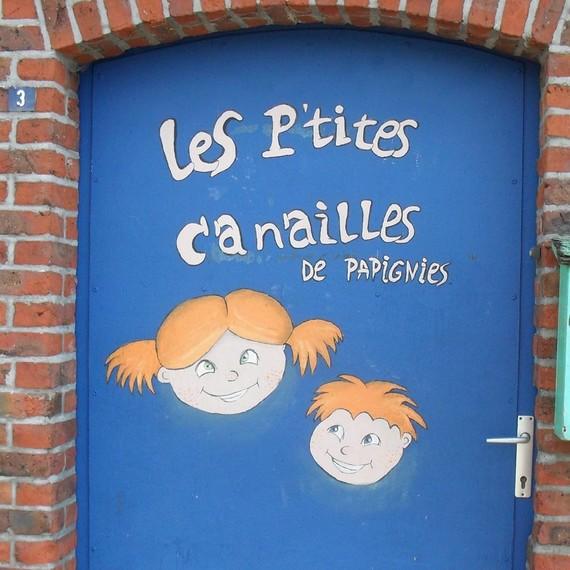 Ecole communale maternelle  de Papignies (Lessines) : collecter un max de pièces pour Viva For life