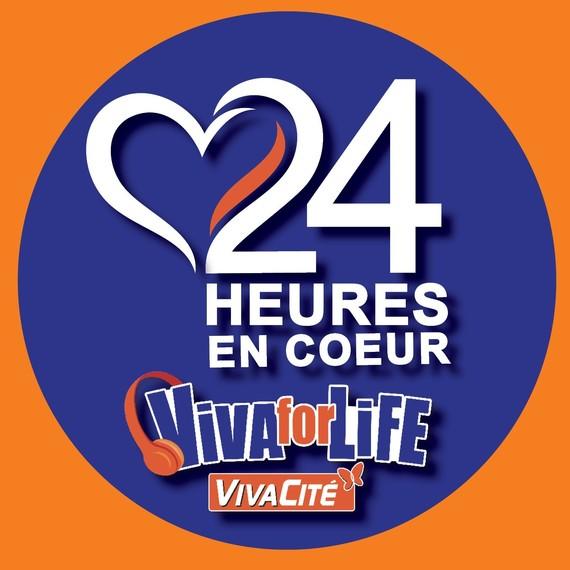 24h en coeur pour Viva for Life