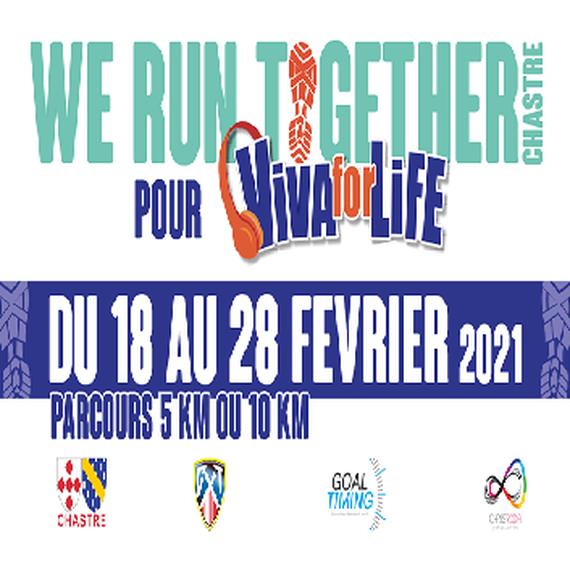 We Run Together pour VivaforLife
