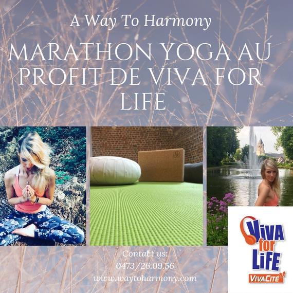 Marathon yoga !