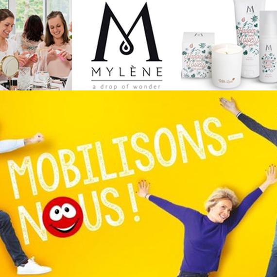 Mylène se mobilise pour Viva for Life