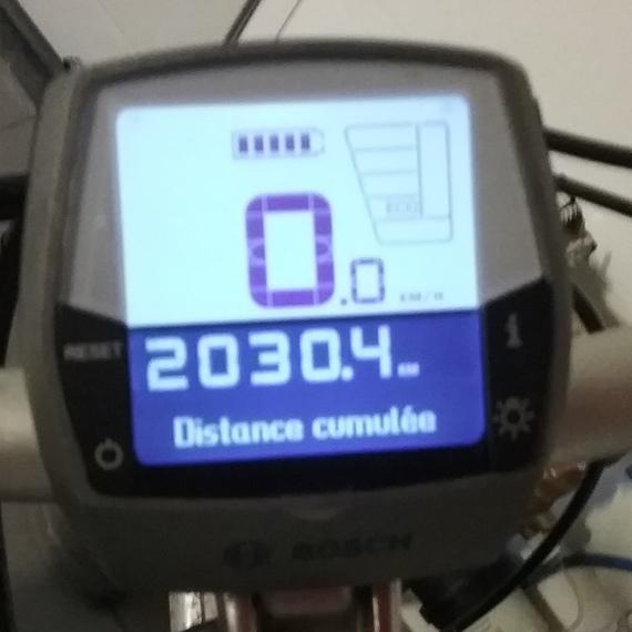 5 000 km à vélo