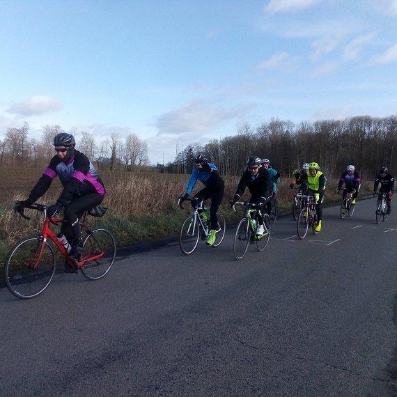 Les cyclos de Marchin et leurs amis roulent pour Viva for Life !