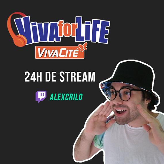 Live 24h Alex Crilo