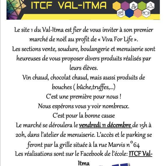 Marché de Noël du Val-Itma